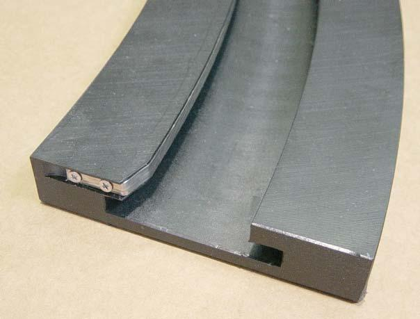 friction than standard UHMWPE.