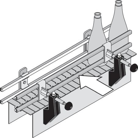 CONVEYOR COMPONENTS Speedset A few things should be taken into consideration when mounting and using Speedset to get full benefit of its features: - easy and accurate setting of different positions