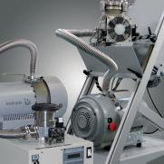 Wide pumping speed range from 46 to 600 l/sec.