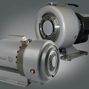 0 m 3 /h, and ultimate pressure 3.3 x 10-1 mbar. SH-110: peek pumping speed 5.4 m 3 /h.