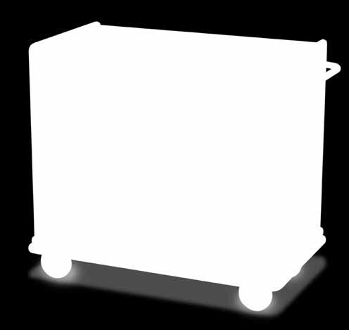 45 cm: 79 54 115 ROOM SERVICE CARTS * Shown with