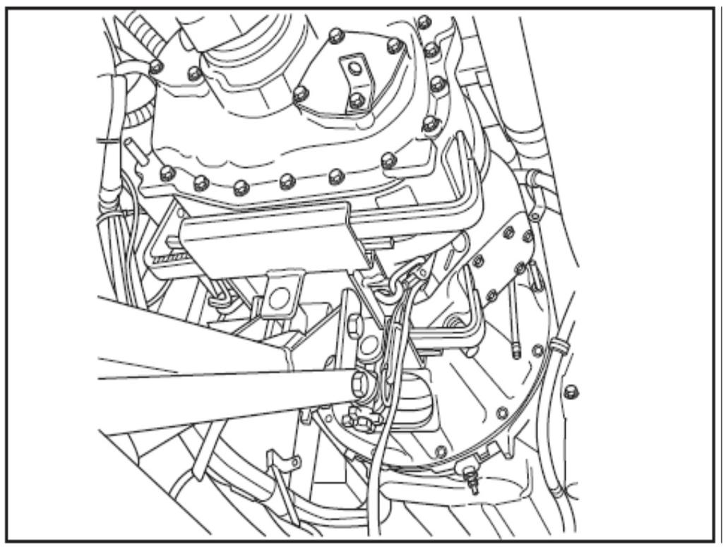 Installation Check that engine and transmission are aligned Note: The transmission should slide without force into