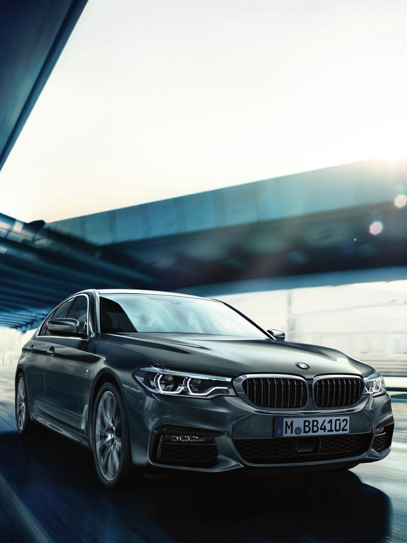 MODEL RANGE. The BMW 5 Series Saloon is available in a variety of engine and model variants, each providing a different level of standard specification.