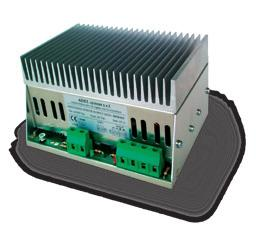 FLEX DIN rail Switching Power Supplies. Very compact in size, 150% power boost, wide input voltage range 110-230 - 400-500 Vac. Selectable output protection mode.