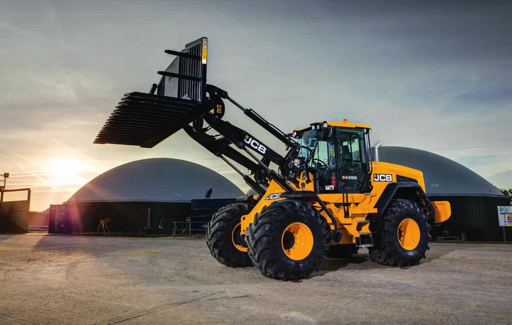 435S WHEEL LOADER. 1. Ultimate control Variable displacement pumps feed a load sensing valve block which only consumes power on demand, providing precise, efficient loader control. 2.