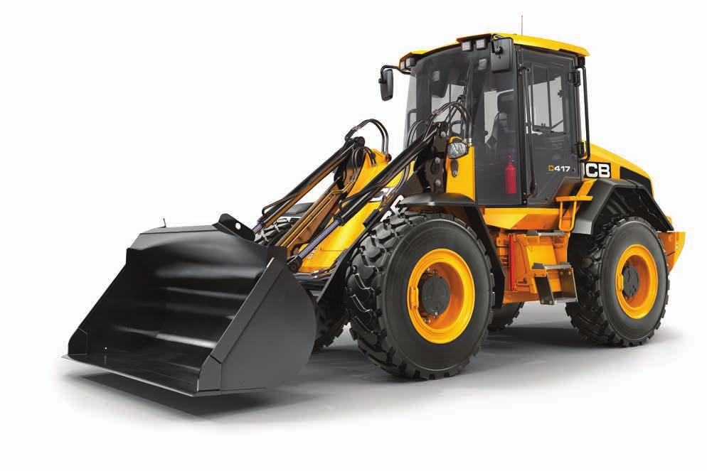 411/417 AGRI WHEEL LOADER. 1. EcoMAX performance The JCB 4.