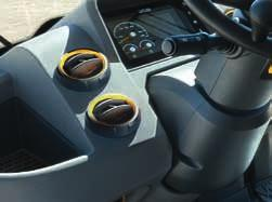 A range of loader controls : multi-lever, joystick or joystick