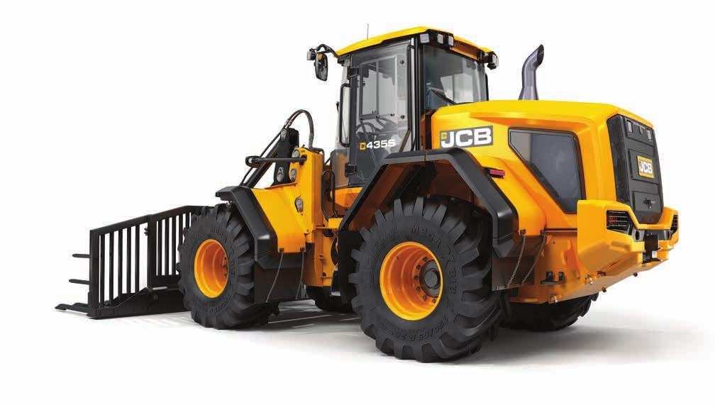 BUILDING THE ULTIMATE AGRICULTURAL RANGE. Ever since JCB was founded by Joseph Cyril Bamford in a small garage in Staffordshire in 1945, innovation has driven our machines and our thinking.