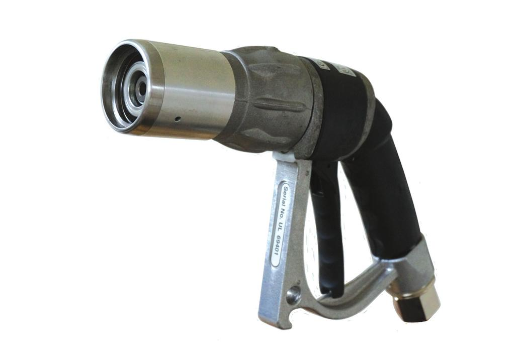 7cm³» Lower lever pressure than GG1ES GG1DNS Nozzle For refueling of light duty/autogas vehicles and storage tanks by untrained personnel.
