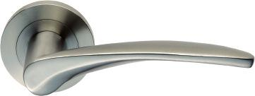 BOLOTA 304 Lever handle length 120mm Lever projection 58mm Rose Ø52mm x 7mm Sprung, Concealed Rose Threaded