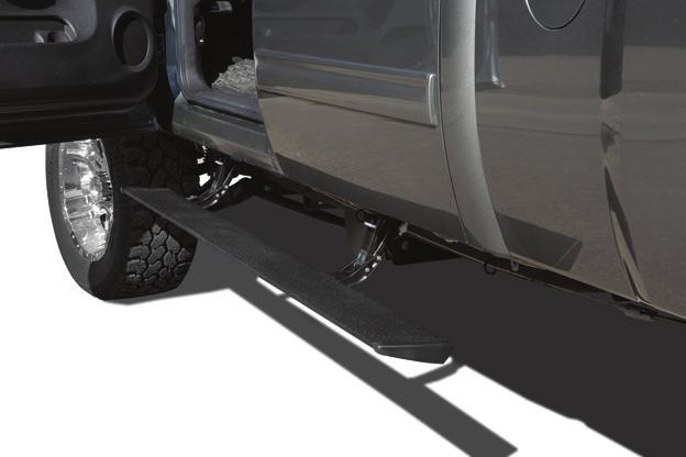 Installation Instructions PowerBoard Automatic Retracting Running Board Vehicle Application Chevy Silverado/GMC Sierra Extended Cab 2007 and newer (excluding 2011 Diesels) Part Number: 75123-15 Chevy