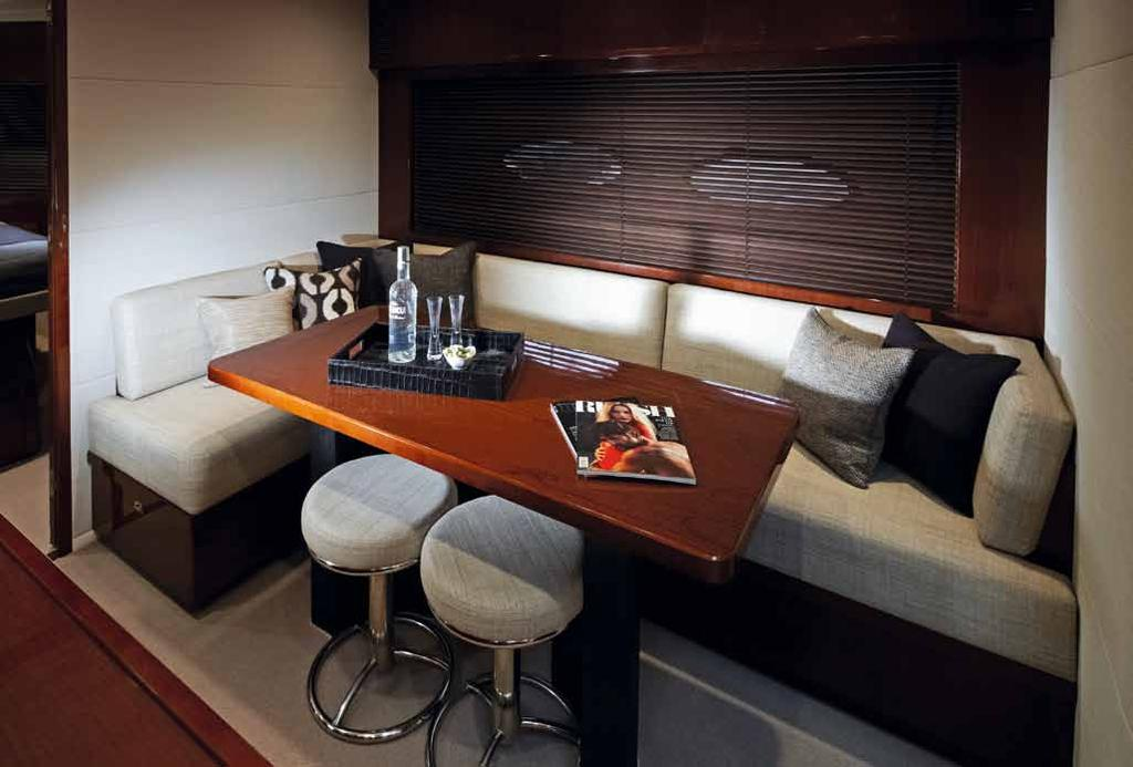 well equipped galley which is large enough to accommodate a