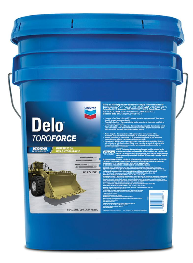 INTRODUCTION Let s Go Further with Delo TorqForce Products. When your heavy-duty equipment is working, your business is driving profits.