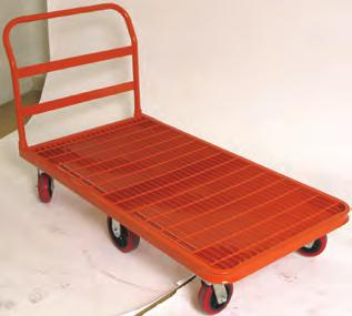 aluminum & STEEL GrID platform trucks 273601 Do not exceed 2,400 lb structural capacity Thrifty Plate Aluminum Tread Platform s - Commercial Quality (Import) Structural capacity of any size platform