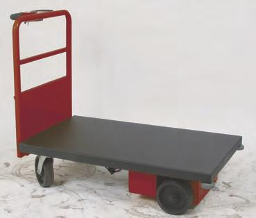 power drive platform trucks 272413 272416 273207 Power Drive Steel Platform Built-in UL approved charger. Battery charge status indicator. Two 12V DC batteries installed. Battery part #109148.