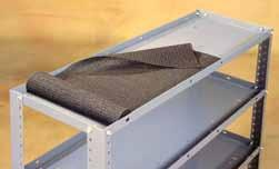 Door 07498KP 4 W x H Storage Door 07499KP 5 W x H Storage Door Shelf Liners prevent contents from shifting