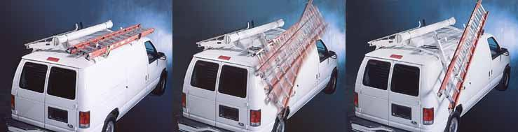 Power Rack LADDER RACK Exclusive Power Rack technology lowers ladders at the touch of a button.