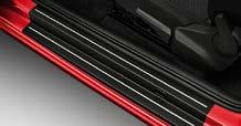 You can also opt for other accessories products, such as door sill spoilers