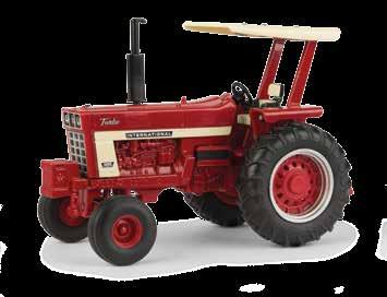 feel tires, hitch fits most 1:32 implements. 1:32 Farmall 806 Part No.
