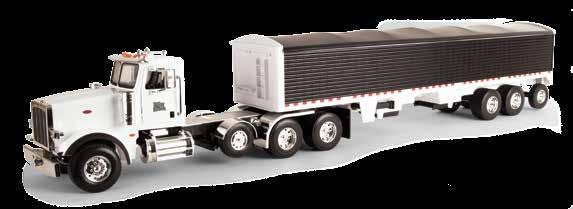 Requires (3) AAA batteries (included). 1:16 Peterbilt Model 367 with Grain Trailer Part No.