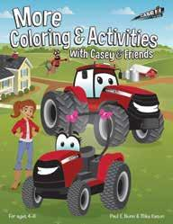 More Coloring and Activities with Casey and Friends Part No.