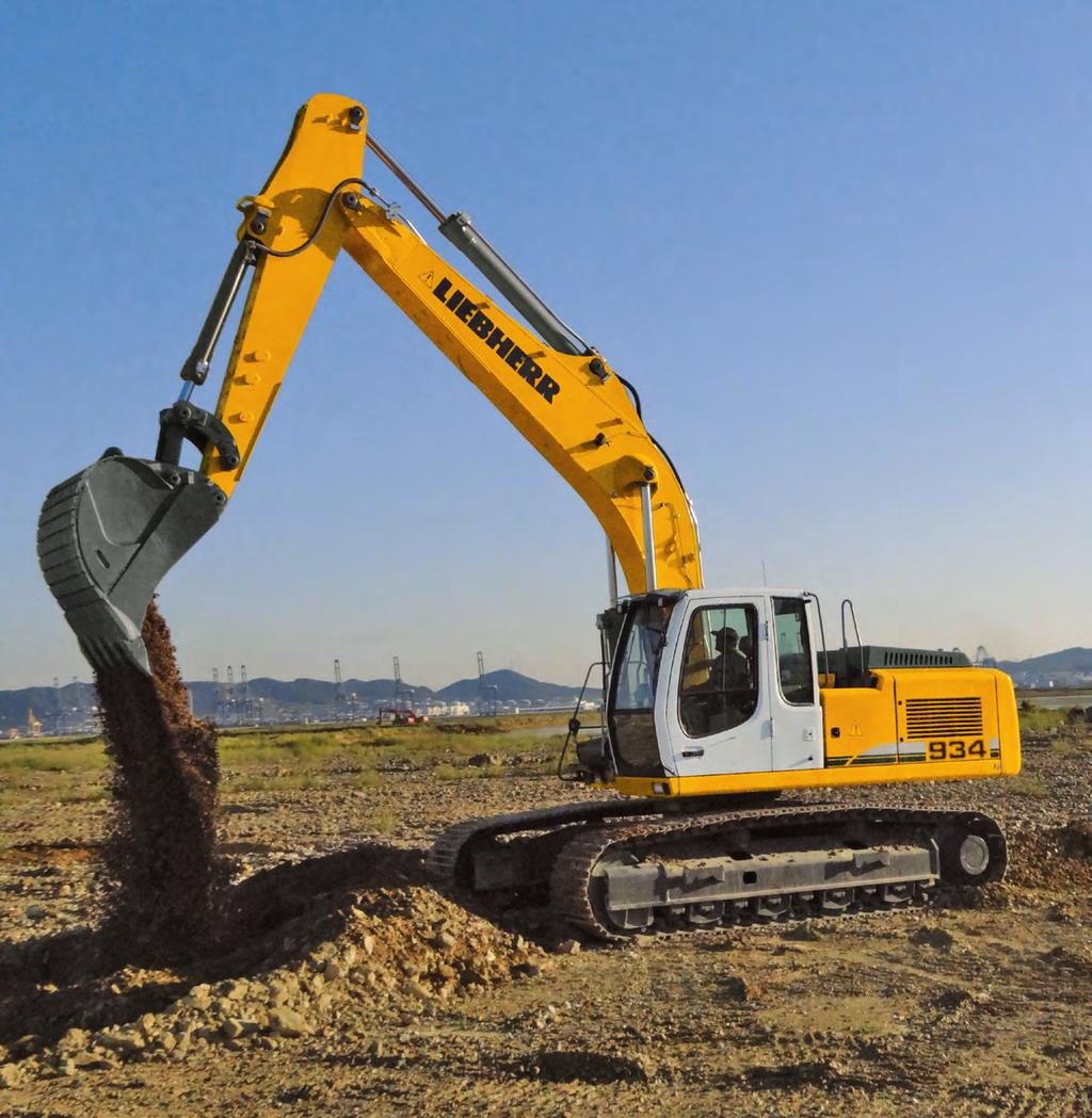 Crawler Excavator R 934 C Operating Weight: 32,600 33,500 kg Engine