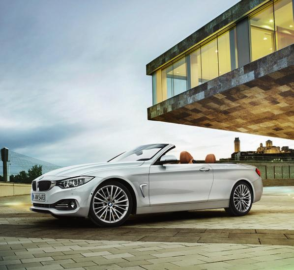 The new BMW 4 Series Convertible www.bmw.co.