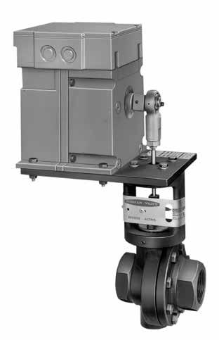 Mark 33 Series Electric Motor Control Valves The Mark 33 is a motor operated valve featuring the Jordan sliding gate seat and heavy-duty industrial motors for proportional (resistance), on-off,