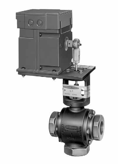 Mark 39/39MX Series Electric Three-Way Control Valves CRN Registration Number Available The Mark 39 is a motor-operated three-way control valve that combines the performance and excellent shutoff