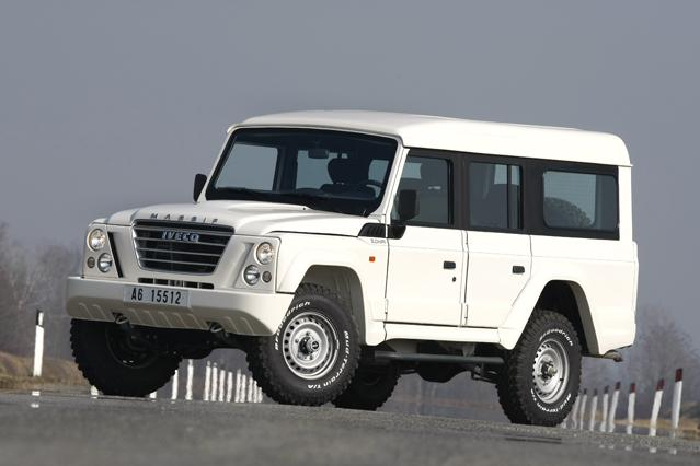 Based on the Santana PS10 (Land Rover Defender).