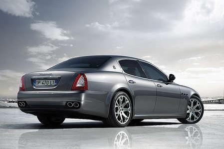 Quattroporte with new engines and different new optical