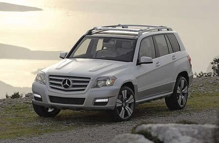 MERCEDES-BENZ Mercedes GLK Station wagon Model