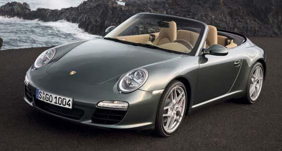 double-clutch-transmission Porsche 911 Convertible