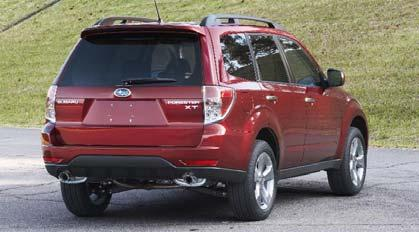 and successor of the Subaru Forester.