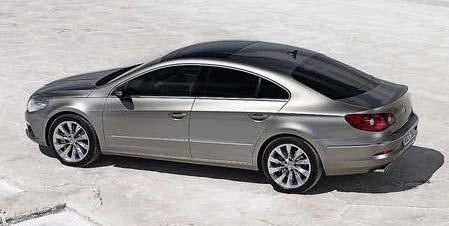 the actual VW Passat.