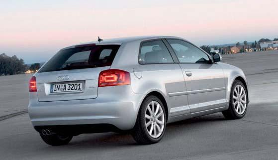 Audi A3 Sportsback Station wagon Facelift Model 2008 Introduction: