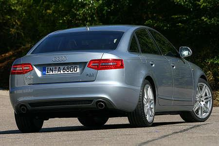 of the A6 Sedan with new front and