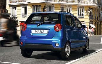 Facelift of the Matiz / Spark, new bumper, head