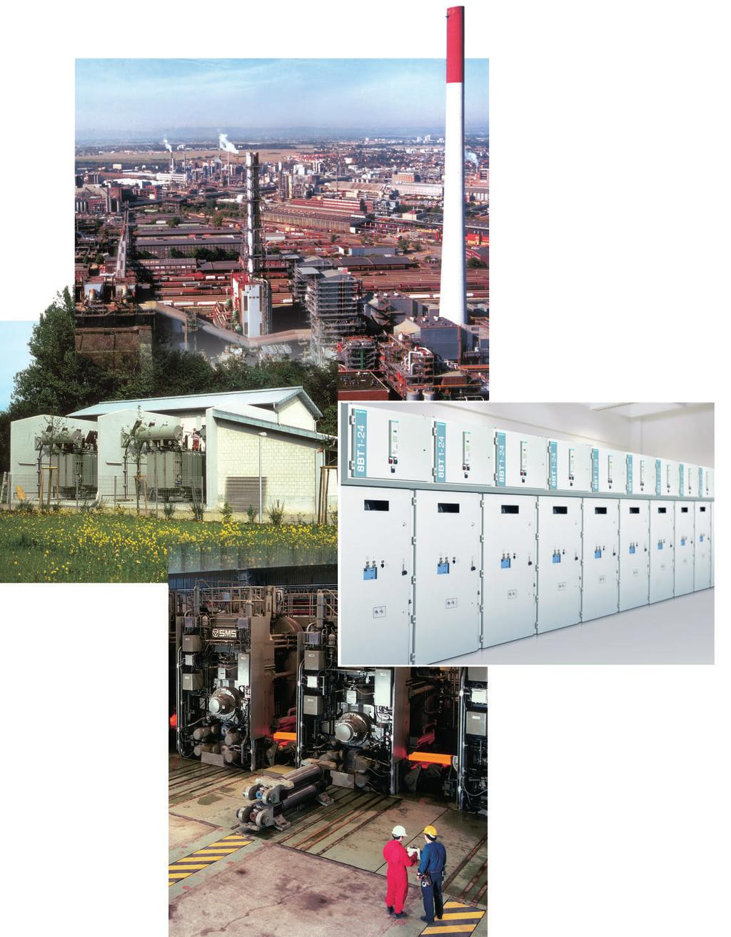 R-HA25-327 eps R-HA25-308 eps R-HA25-326 eps Switchgear Type 8BT1, up to 24 kv, Air-Insulated Application Typical uses
