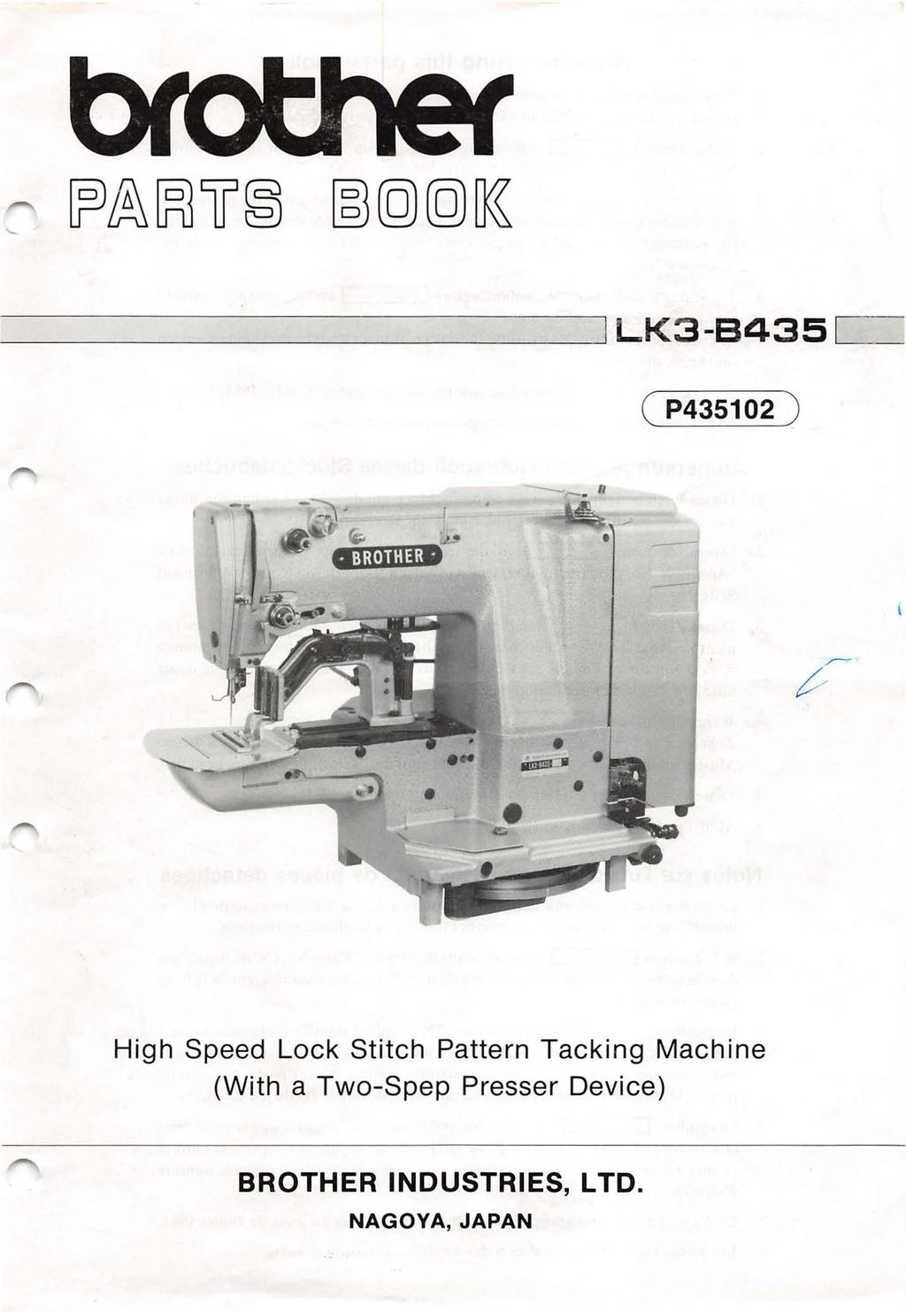 ; --------------- LK3-B435 L- ( P4350 ) n High Speed Lock Stitch Pattern