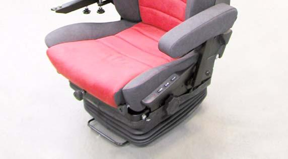 DRIVER'S SEAT 20 63 9 HAND WHEEL FOR SIDE-SECTION ADJUSTMENT for individual adaptation of lateral control 10 INFINITELY