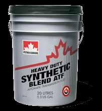 Petro-Canada Heavy Duty Synthetic Blend ATF Specifically formulated for commercial and heavy duty applications.