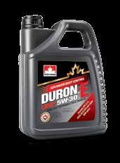 DURON-E XL 15W-40 High performance, all-weather formulation that offers exceptional soot controlling properties to