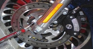 Lower Tire Temperatures Improve Tracking and Cornering