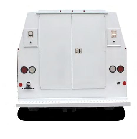 SPECS imensional ata Model Type of Roof Compartment epth Rear oor Opening Overall Length Overall Width T RUBRIL Floor Width Inside Height Outside Height Cab-to- xle pprox Weight Bumper Weight