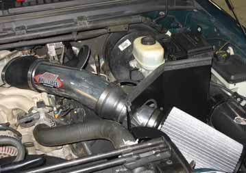 Re-adjust pipes if necessary and re-tighten them. c. Inspect the engine bay for any loose tools and check that all fasteners that were moved or removed are properly tightened. d.