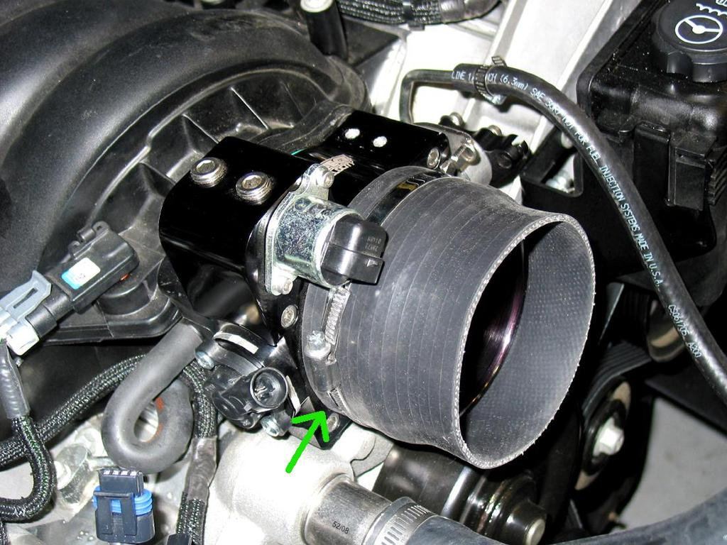 3.8 Depending on the type of air filter and intake pipe configuration being used on your vehicle will determine how the included 4 inside diameter silicone coupling and clamps will be used.