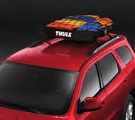 Attaches to the standard equipment crossbars or Mopar Roof Rack. (1) 2. ROOF TOP CARGO CARRIER.