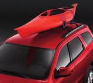 straps. Carrier also features a large covered zipper opening and sealed seams. 3. ROOF TOP CARGO BASKET.