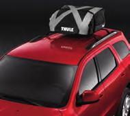 (1) with both wheels secured. Carriers mount to the standard equipment crossbars or Mopar Roof Rack. (1) 8. HITCH-MOUNT BIKE CARRIERS.